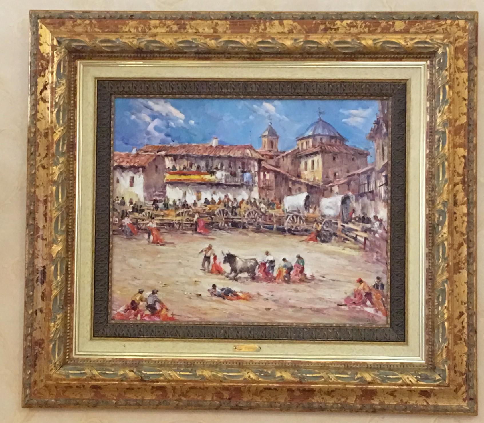 картина Испанская коррида